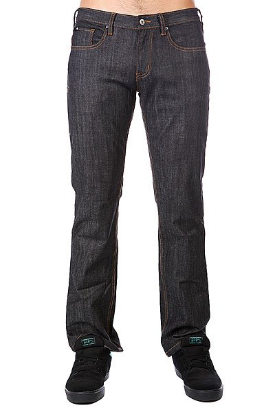 Джинсы прямые Circa Classic Stretch Denim Black Dry Rinse