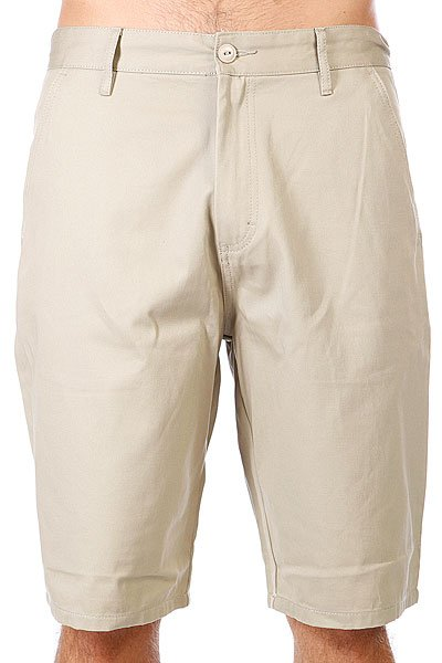 Шорты Etnies Classic Chino Short Khaki<br><br>Цвет: бежевый<br>Тип: Шорты<br>Возраст: Взрослый<br>Пол: Мужской