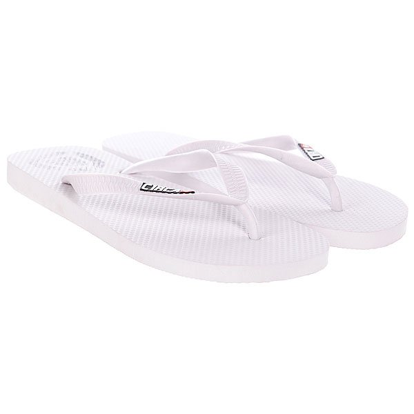 Шлепанцы Circa Logo Sandal White ostry kc06 fashion in ear ear hook earphones silver black 3 5mm plug 1 2m cable