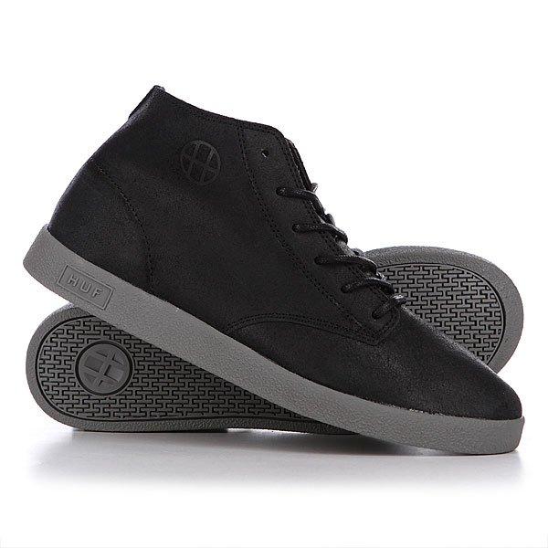 Кеды кроссовки Huf Cooper Black/Charcoal