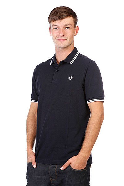 Поло Fred Perry Slim Fit Twin Tipped Shirt Old Navy
