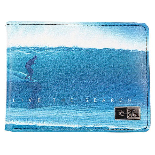 Кошелек Rip Curl Rockered Graphics Photo Blue