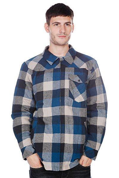 Рубашка в клетку Billabong Comber navy<br><br>Цвет: синий,серый<br>Тип: Рубашка в клетку<br>Возраст: Взрослый<br>Пол: Мужской