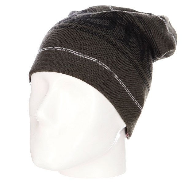 Шапка Billabong Mayday Reversible Beanie Grey Marle шапка kini red bull reversible beanie  серый
