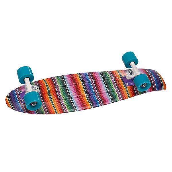 """Скейт мини круизер Penny Original Ltd Baja Pink 22 (55.9 см)Обновленная модель, представленная в новых сладких оттенках.Подвеска: &amp;nbsp;4"""" powder-coated PennyКолеса: &amp;nbsp;59мм/78АПодшипники: ABEC 7<br><br>Цвет: розовый,фиолетовый<br>Тип: Скейт мини круизер"""