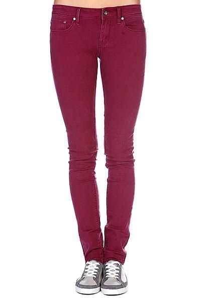 Штаны узкие женские Roxy Suntrippers Colors L Grape Wine<br><br>Цвет: фиолетовый<br>Тип: Штаны узкие<br>Возраст: Взрослый<br>Пол: Женский