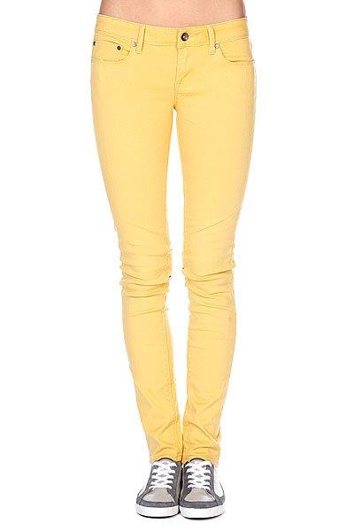 Штаны узкие женские Roxy Suntrippers Colors L Creamy Gold