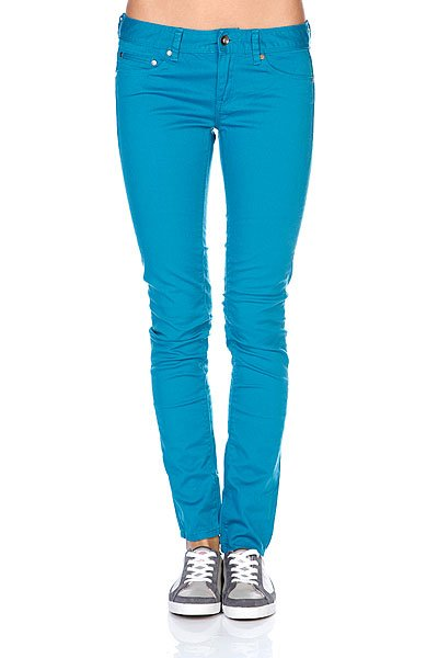 Джинсы женские Roxy Suntrippers Mini Moroccan Blue Proskater.ru 3190.000