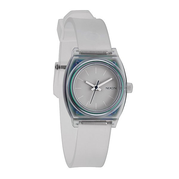 Часы женские Nixon Small Time Teller P Translucent