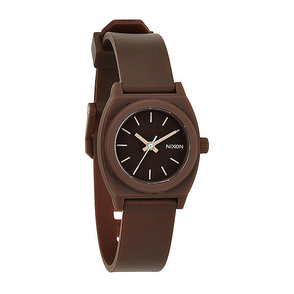 Часы женские Nixon Small Time Teller P Brown