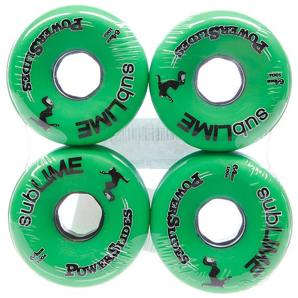 Колеса для скейтборда для лонгборда Abec 11 Powerslides 100A 64 mm Proskater.ru 2802.000