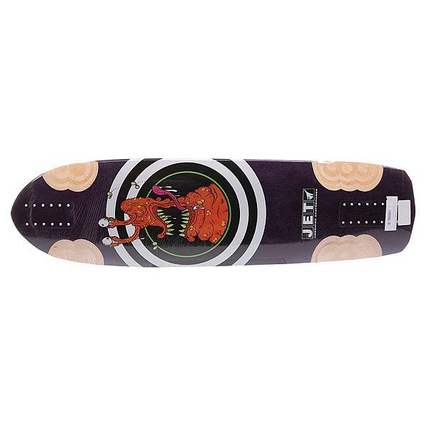 Дека для скейтборда для лонгборда Jet Tomahawk Rocker 35.5 x 9.75 (24.8 см) Proskater.ru 6290.000