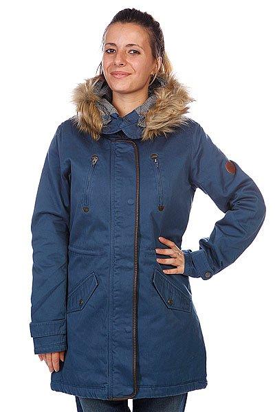Куртка парка женская Roxy Igloo Dark Denim
