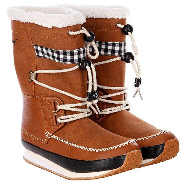 Коричневые сапоги для девушек Roxy Terry Ii Rust от eBay RU