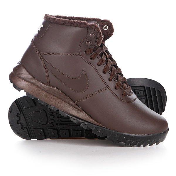 Кеды кроссовки зимние Nike Hoodland Leather Baroque Brown Proskater.ru 4360.000