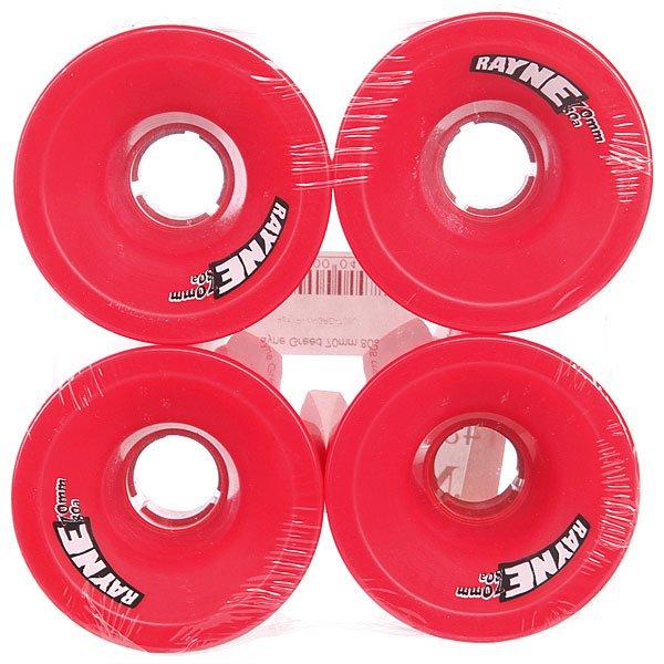 Колеса для скейтборда для лонгборда Rayne Greed Red 80A 70 mm Proskater.ru 2770.000