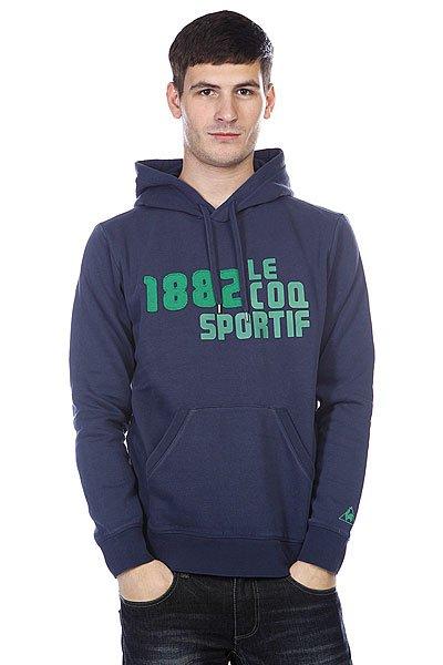 Толстовка Le Coq Sportif 1882 Chaberton Hood Navy Proskater.ru 4560.000