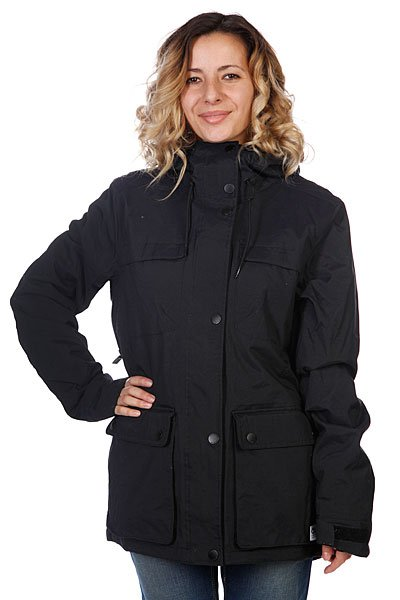 Куртка женская Colour Wear Ida Jacket Black