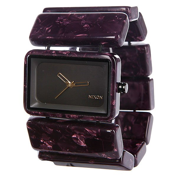 Часы женские Nixon Vega Gunmetal Velvet