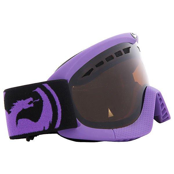 Маска для сноуборда Dragon Snow Dxs Pop Purple Jet