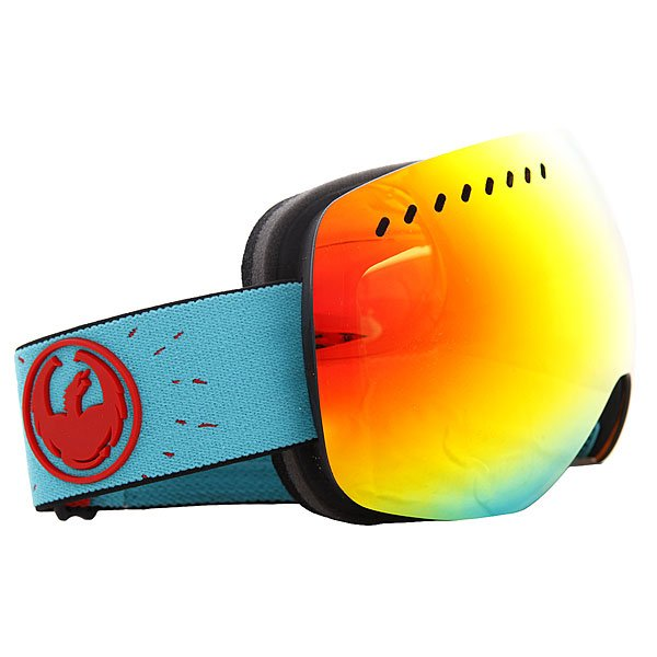 Маска для сноуборда Dragon Snow Apxs Pirates Collab Red Ionized Yellow/Blue Ionized Proskater.ru 8990.000