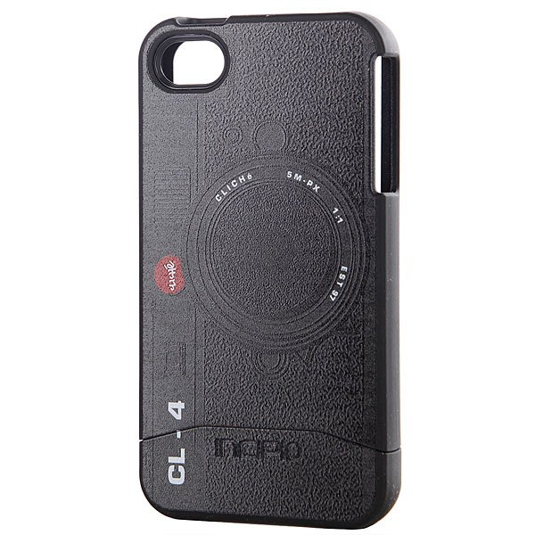 Чехол для Iphone Incipio Cliche Camera Edge Iphone 4 Incipio Case Black iphone 4 в твери