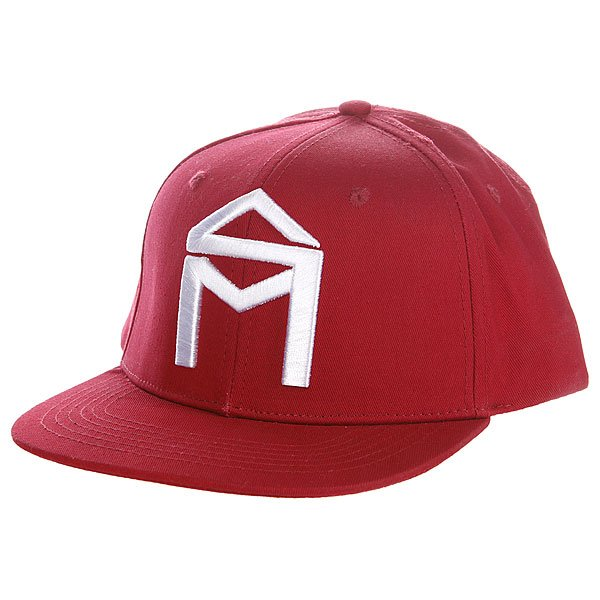Бейсболка Sk8mafia House Logo Adj Cardinal<br><br>Цвет: красный<br>Тип: Бейсболка с прямым козырьком<br>Возраст: Взрослый<br>Пол: Мужской