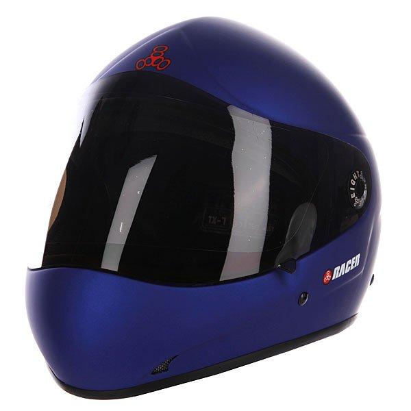 Шлем для лонгборда Triple Eight T8-Racer 2.0 Blue Rubber Proskater.ru 15570.000