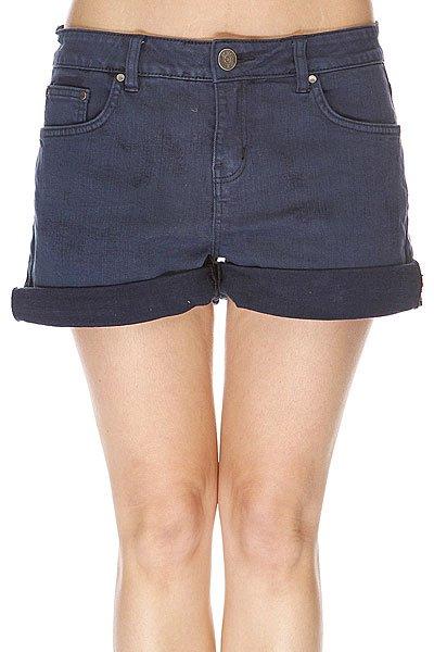 Шорты джинсовые женские Rip Curl Kristen Dark DenimДанная модель не имеет внутренней подкладки в виде сеточки<br><br>Цвет: синий<br>Тип: Шорты джинсовые<br>Возраст: Взрослый<br>Пол: Женский