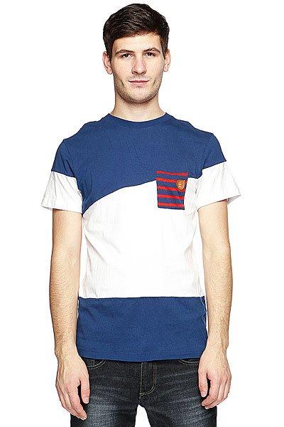 Футболка Picture Organic Oxford White Marine<br><br>Цвет: синий,белый<br>Тип: Футболка<br>Возраст: Взрослый<br>Пол: Мужской