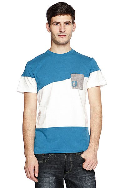 �������� Picture Organic Oxford Men Tee Blue Petrol