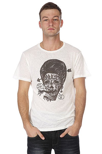 Футболка Obey Nuisance White Proskater.ru 1870.000