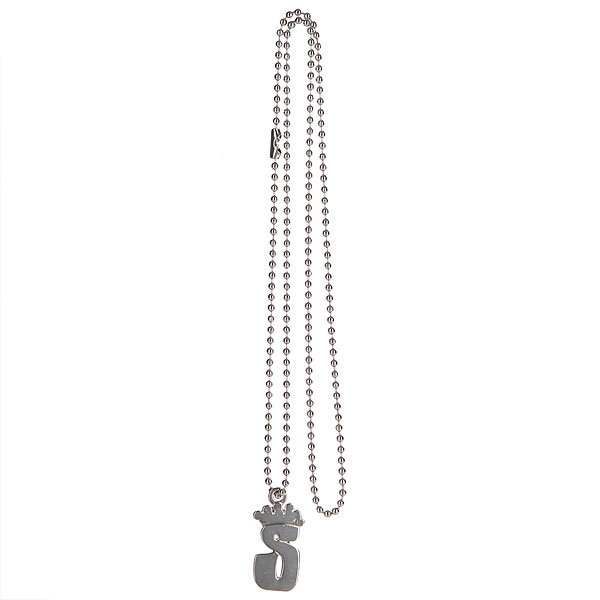 Брелок Stussy Icon Necklace Silver