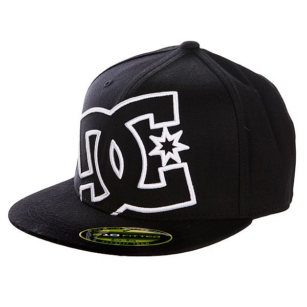 Бейсболка Flexfit DC Ya 210 Flexfit Hat Black бейсболка flexfit independent stock o g b c  flexfit black