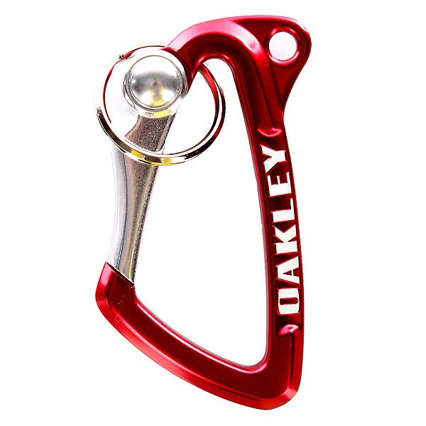 Карабин Oakley Large Carabiner Red Line