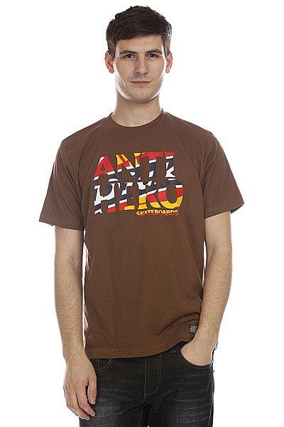 Футболка Dickies Ah Fw11 Dark Brown<br><br>Цвет: коричневый<br>Тип: Футболка<br>Возраст: Взрослый<br>Пол: Мужской