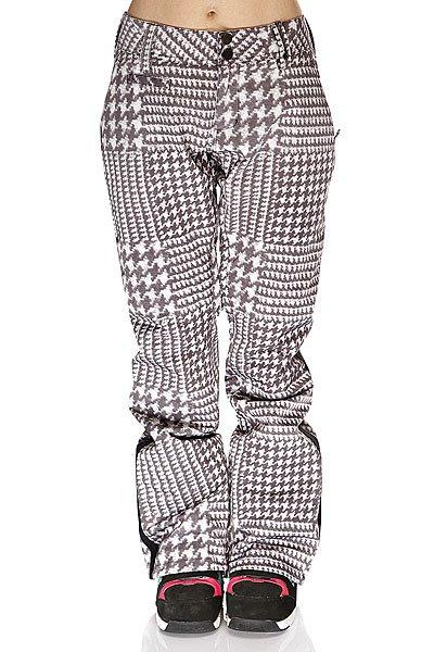 Штаны сноубордические женские Burton Lamb Tux Pant Big Houndstooth