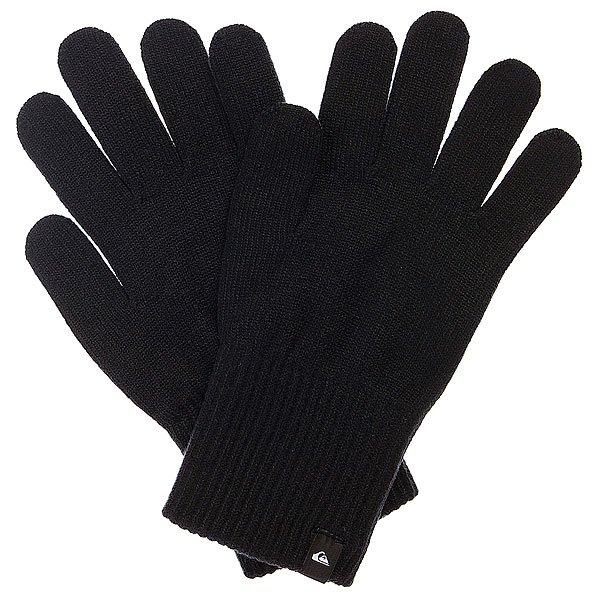 Перчатки Quiksilver Octo BlackПрочные и долговечные, городские перчатки из современной высокоэластичной ткани с «дышащим» эффектом. Характеристики:Лэйбл с лого на манжете. Эластичные манжеты.<br><br>Цвет: черный<br>Тип: Перчатки<br>Возраст: Взрослый<br>Пол: Мужской