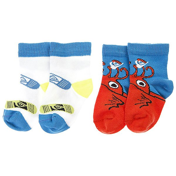 Носки детские Quiksilver Baby Socks Pack Assorted Proskater.ru 480.000
