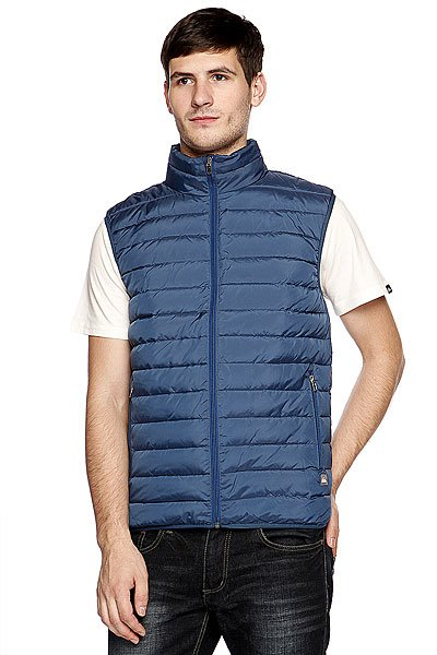 Жилет Quiksilver Scaly Gilet Washed Navy