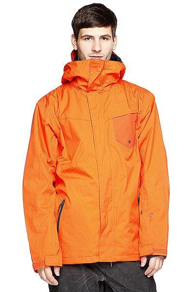 Куртка Quiksilver Mission System 10k Jkt Mandarin Red