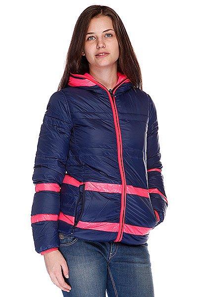 Куртка двусторонняя женская Roxy Intsola Peacoat
