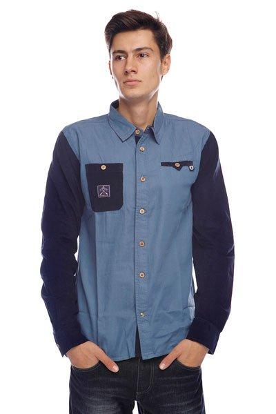 Рубашка Picture Organic Organic Jeffrey Jean Dark Blue<br><br>Цвет: синий,голубой<br>Тип: Рубашка<br>Возраст: Взрослый<br>Пол: Мужской