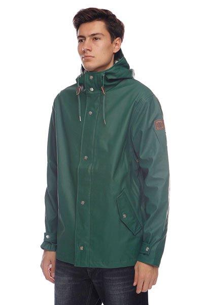 Куртка Element Dawson Hunter GreenТехнические характеристики: Верх из комбинации полиуретана и полиэстера. Без внутренней подкладки. Без дополнительного утепления (осень/весна).  Застежка – молния+кнопки по всей длине.  Фиксированный капюшон с регулировкой.  Два прорезных кармана для рук.  Фасон – стандартный (regular fit).<br><br>Цвет: зеленый<br>Тип: Куртка<br>Возраст: Взрослый<br>Пол: Мужской