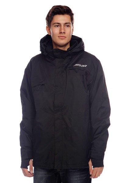 Купить Куртки   Куртка Santa Cruz Paradox Black