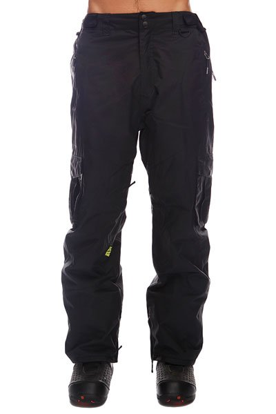 Штаны сноубордические Apo Master Loose BlackТеплые штаны Apo Master Loose обеспечат комфорт во время занятий сноубордом и защиту от холода. В таких брюках Вы не станете отвлекаться на свой внешний вид и сможете сконцентрироваться на катании, вращениях и сложных трюках. Технические характеристики: Артикуляционные вставки.Вентиляционные отверстия на молнии.Регулировка талии.Карманы для рук на молнии.Задний карман.Боковые карманы - карго.Края штанин на молнии.Фасон - стандартный (Regular Fit).<br><br>Цвет: черный<br>Тип: Штаны сноубордические<br>Возраст: Взрослый<br>Пол: Мужской