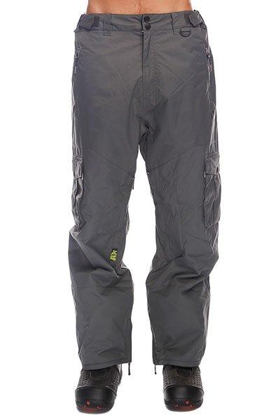 Штаны сноубордические Apo Master Loose ShadowТеплые  штаны Apo Master Loose обеспечат комфорт во время занятий сноубордом и защиту от холода. В таких брюках Вы не станете отвлекаться на свой внешний вид и сможете сконцентрироваться на катании, вращениях и сложных трюках. Технические характеристики: Артикуляционные вставки.Вентиляционные отверстия на молнии.Регулировка талии.Карманы для рук на молнии.Задний карман.Боковые карманы - карго.Края штанин на молнии.Фасон - стандартный (Regular Fit).<br><br>Цвет: серый<br>Тип: Штаны сноубордические<br>Возраст: Взрослый<br>Пол: Мужской