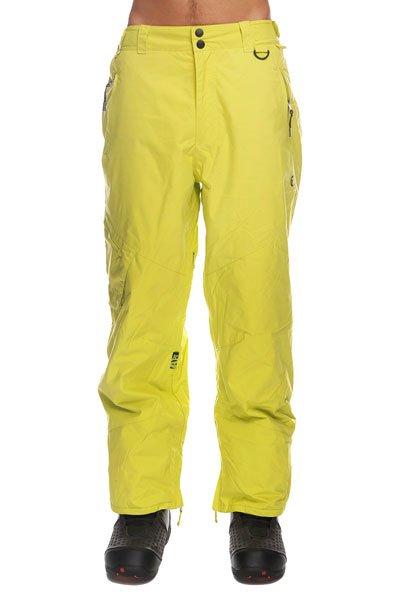 Штаны сноубордические Apo Skid Regular NeonТеплые  штаны Apo Skid Regular  обеспечат комфорт во время занятий сноубордом и защиту от холода. В таких брюках Вы не станете отвлекаться на свой внешний вид и сможете сконцентрироваться на катании, вращениях и сложных трюках. Технические характеристики: Артикуляционные вставки.Вентиляционные отверстия на молнии.Регулировка талии.Карманы для рук на молнии.Задние карманы.Боковой карман.Края штанин на молнии.Фасон - стандартный (Regular Fit).<br><br>Цвет: желтый<br>Тип: Штаны сноубордические<br>Возраст: Взрослый<br>Пол: Мужской