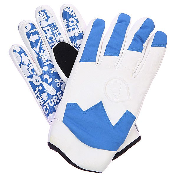 Перчатки сноубордические Picture Organic Sheeper BlueУтепленные перчатки для города и активного отдыха.Технические характеристики: Верх из кожи и переработанного полиэстера.Силиконовая ладонь с принтом для лучшего сцепления.Вставка из замши на большом пальце для протирания маски.Утеплитель Thinsulate.<br><br>Цвет: синий<br>Тип: Перчатки сноубордические<br>Возраст: Взрослый<br>Пол: Мужской