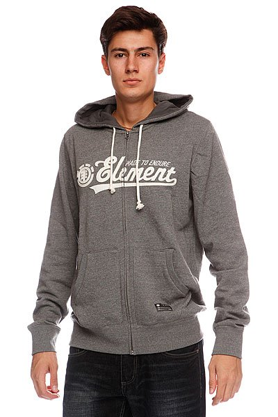 цена Толстовка Element Malone Grey Heather онлайн в 2017 году